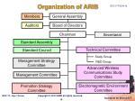 organization of arib