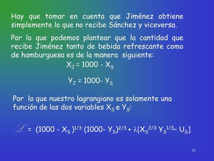 Hay que tomar en cuenta que Jiménez obtiene simplemente lo que no recibe Sánchez y viceversa.