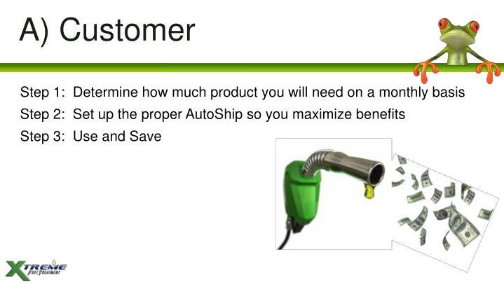 A) Customer