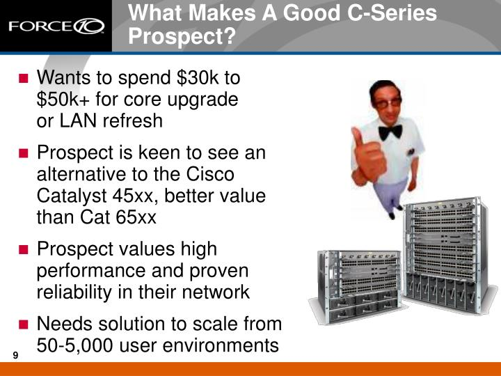 What Makes A Good C-Series Prospect?