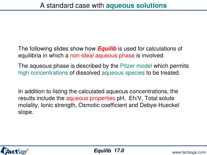 A standard case with
