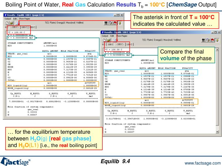 Boiling Point of Water,