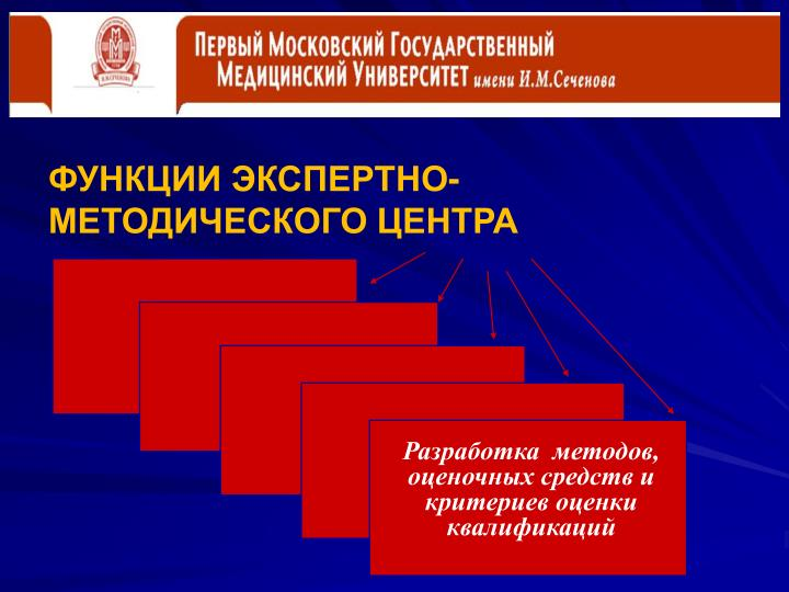 ФУНКЦИИ ЭКСПЕРТНО-МЕТОДИЧЕСКОГО ЦЕНТРА