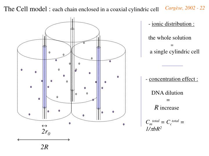 The Cell model :