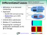 differentiated leases