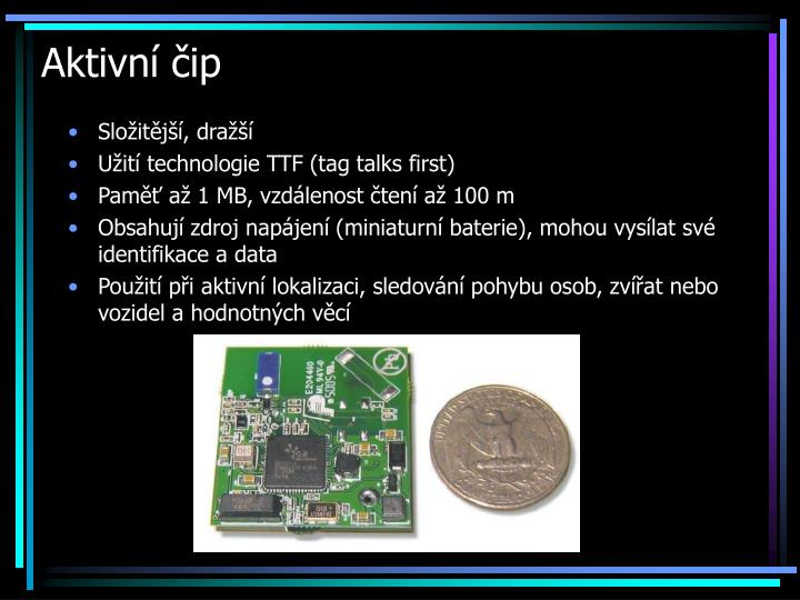 Aktivní čip
