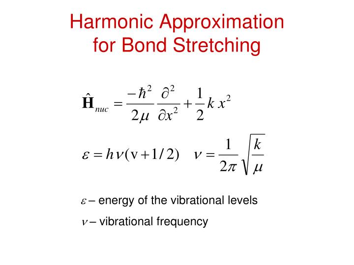 Harmonic Approximation