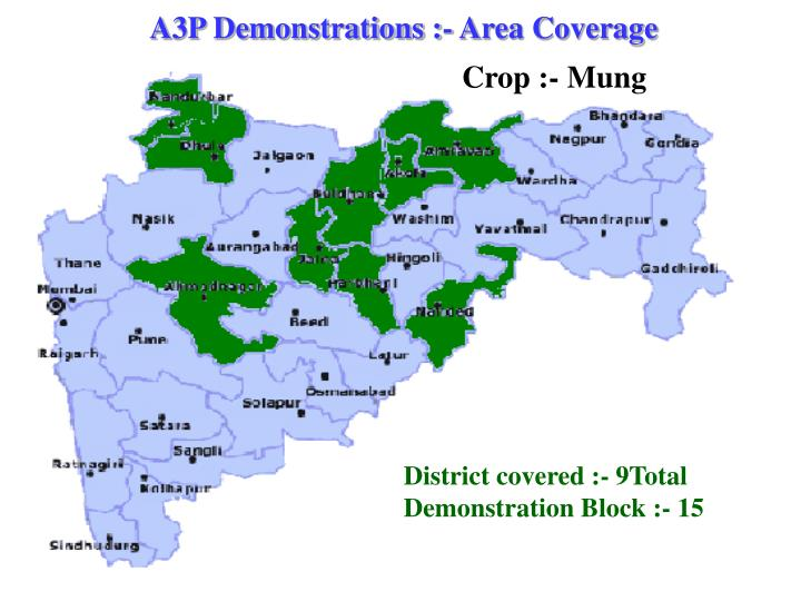 A3P Demonstrations :- Area Coverage