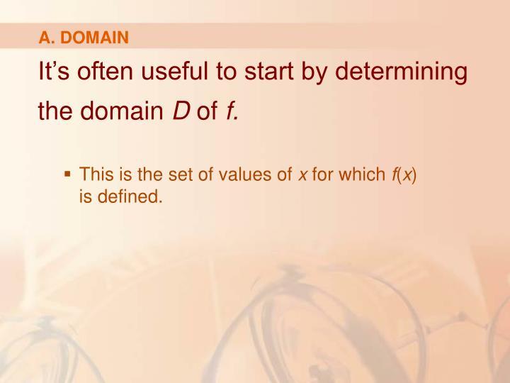 A. DOMAIN