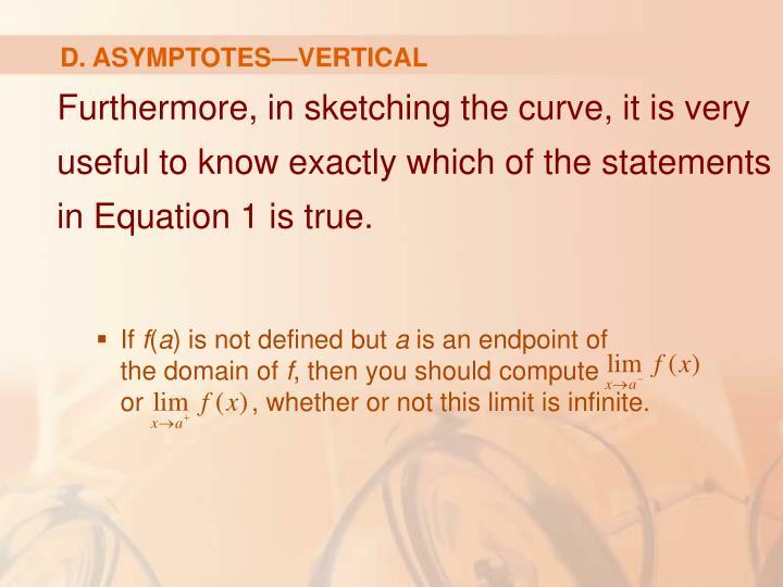 D. ASYMPTOTES—VERTICAL