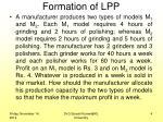 formation of lpp