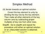 simplex method4