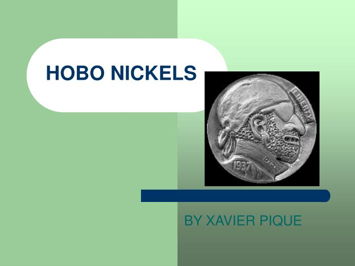 hobo nickels n.