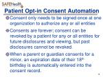 patient opt in consent automation2