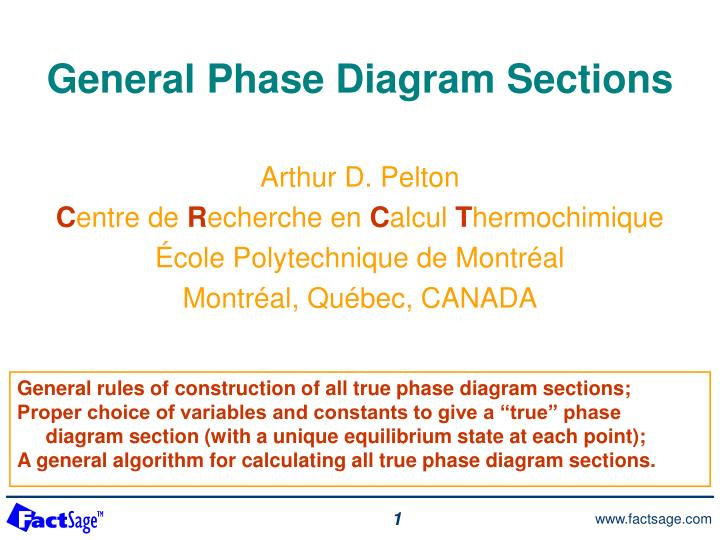 Ppt general phase diagram sections powerpoint presentation id general phase diagram sections ccuart Gallery