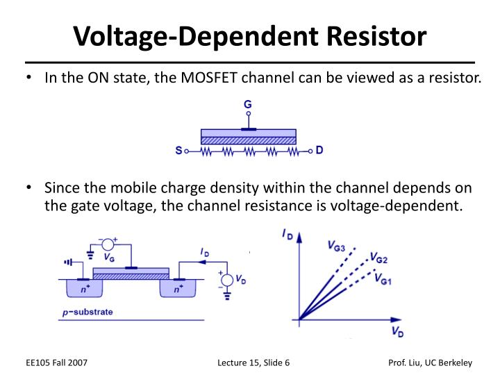Voltage-Dependent Resistor