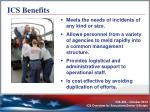 ics benefits