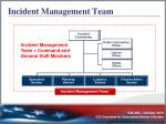 incident management team