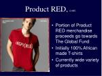 product red cont