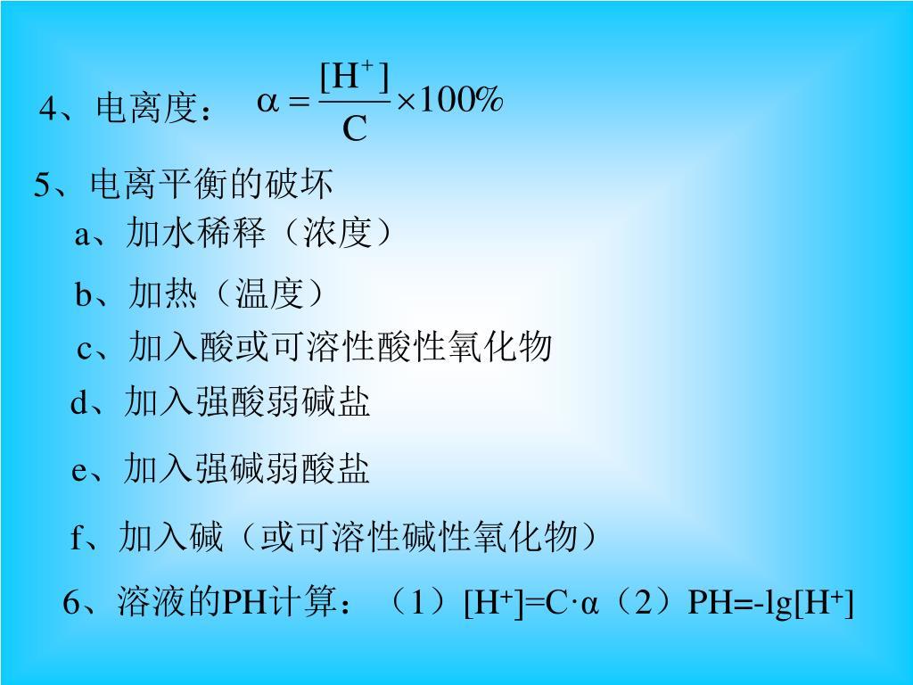 電離 度 計算