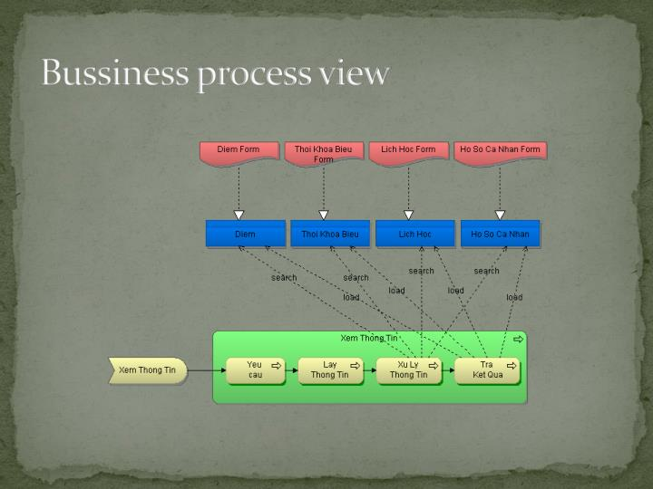 Bussiness process view