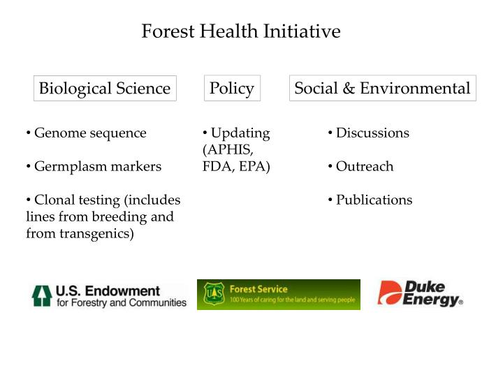 Forest Health Initiative