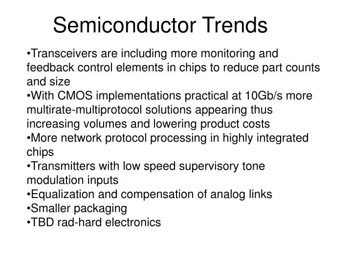 Semiconductor Trends