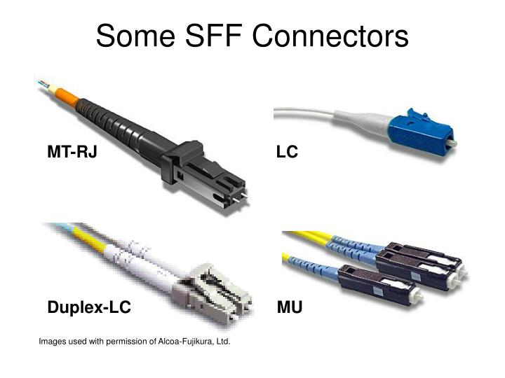Some SFF Connectors