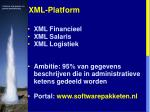 xml platform