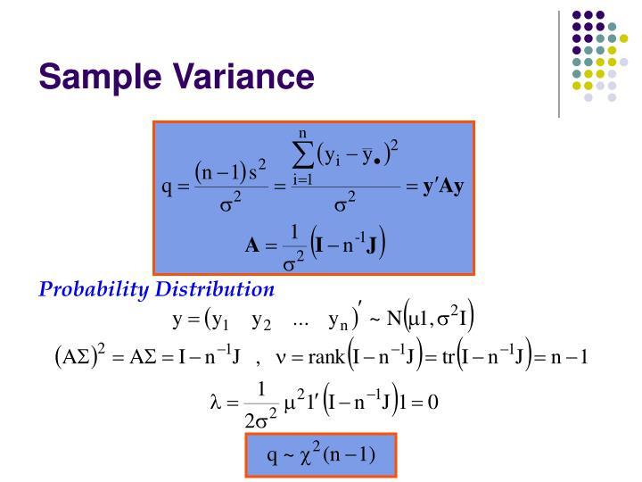 Probability Distribution