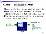 x asb extensible asb