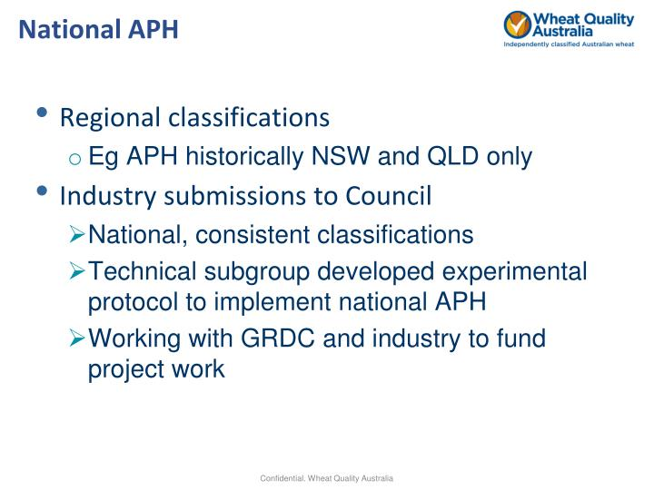National APH