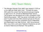 aac team history