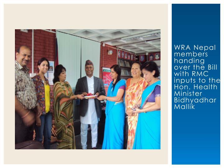 WRA Nepal members