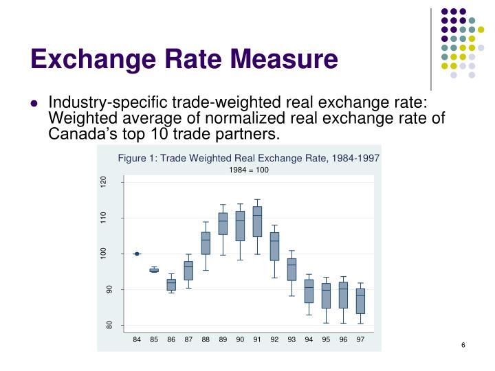 Exchange Rate Measure