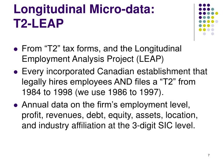 Longitudinal Micro-data: