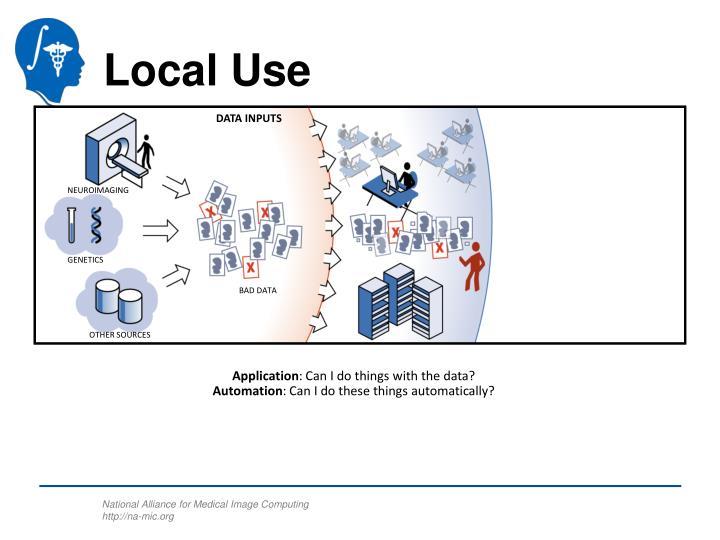 Local Use