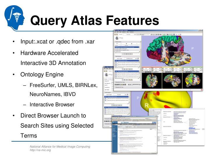 Query Atlas Features