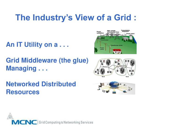 The Industry's View of a Grid :