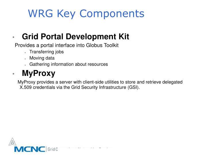WRG Key Components