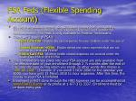 fsa feds flexible spending account