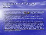 sf 144 statement of prior federal service