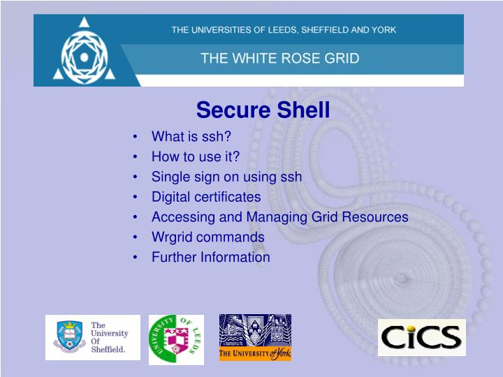 Secure shell1