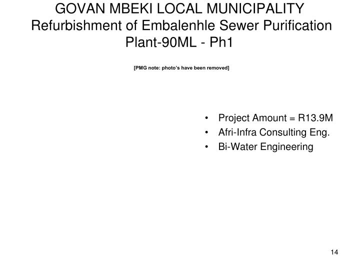 GOVAN MBEKI LOCAL MUNICIPALITY