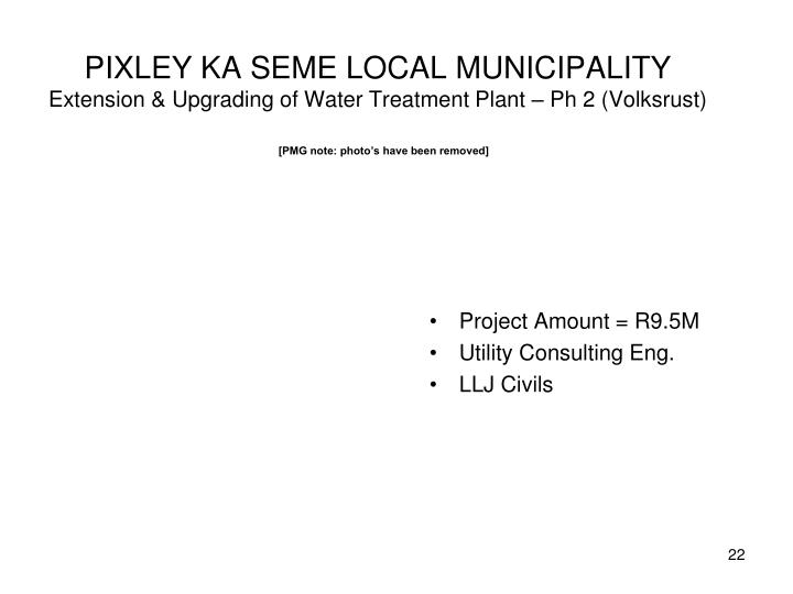 PIXLEY KA SEME LOCAL MUNICIPALITY