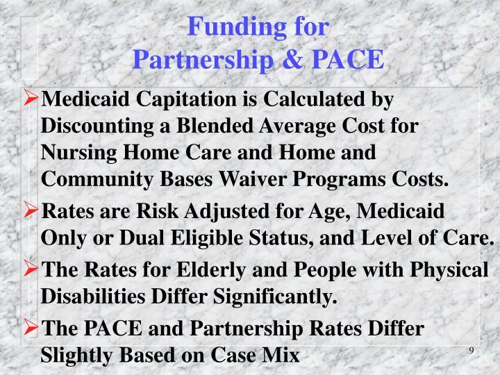 Funding for