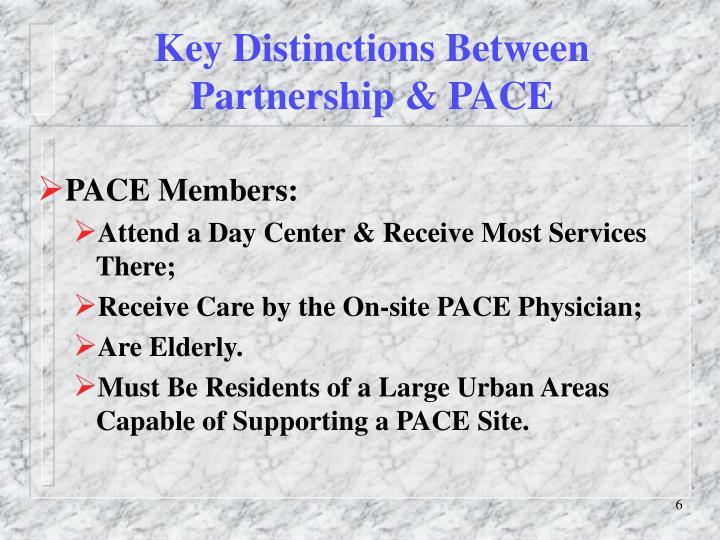 Key Distinctions Between