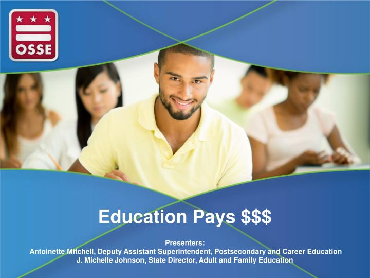 Education Pays $$$