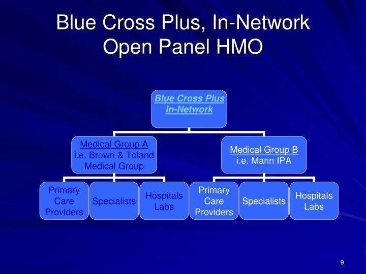 Blue Cross Plus, In-Network