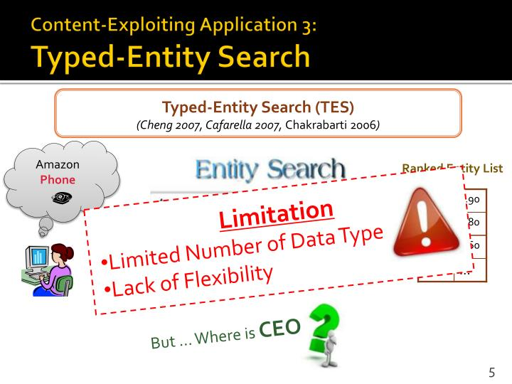 Content-Exploiting Application 3: